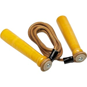 Pro Box Leather Skipping Rope