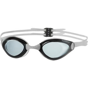 Speedo Aquapulse Swimming Goggles White/Smoke