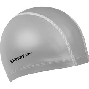Speedo Pace Senior Swimming Cap Silver