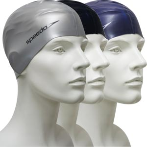 Speedo Senior Flat Silicone Swimming Cap