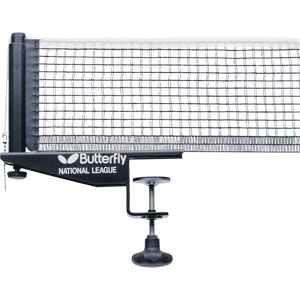 Butterfly National League Table Tennis Net and Post Set
