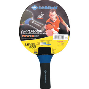 Schildkrot Alan Cooke Powergrip Table Tennis Bat