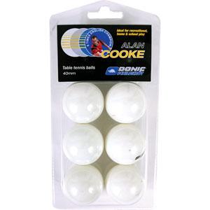 Schildkrot Alan Cooke Table Tennis Balls