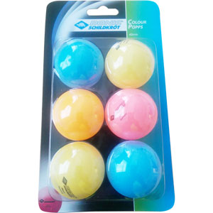 Schildkrot Colour Pop Table Tennis Balls