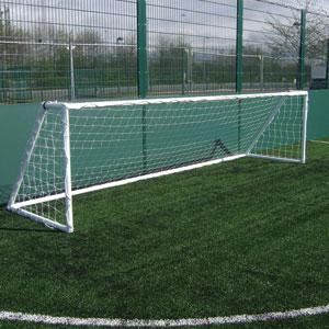 Harrod UK Heavy Duty Galvanised Football Posts 5 v 5