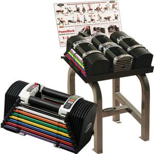 PowerBlock U50 Club Set 4.5kg to 22.5kg