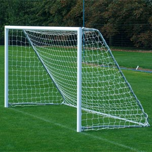 Harrod Sport Freestanding Aluminium Football Posts 16ft x 6ft