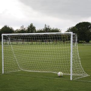 Harrod UK Socketed Heavyweight Steel Football Posts 16ft x 6ft