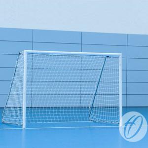 Harrod UK Floor Fixed Aluminium Football Posts 10ft x 7ft