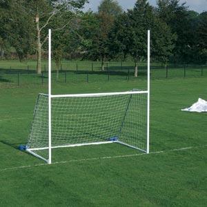 Harrod Sport Freestanding Steel Junior Gaelic Football Posts