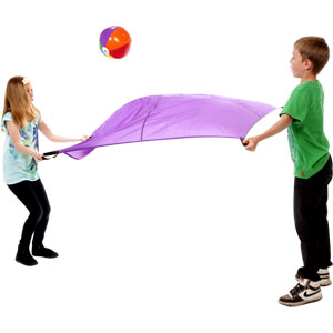 PLAYM8 Two Person Play Parachute 6 Pack