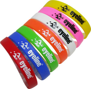 Silicone Events Wrist Bands 100 pack