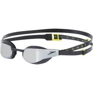 Speedo Fastskin Elite Mirror Goggle Black/Dark Chrome