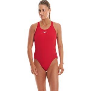 Speedo Endurance+ Medalist Swimsuit Fed Red