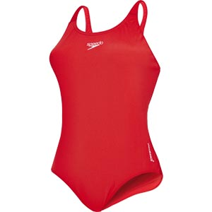 Speedo Endurance+ Medalist Swimsuit Fed Red
