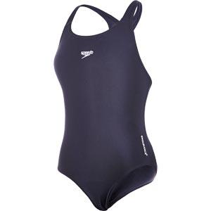 Speedo Girls Endurance+ Medalist Swimsuit Navy