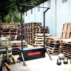 BeaverFit Tactical Gym Box Single Rack