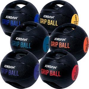 Jordan Fitness Double Grip Medicine Ball