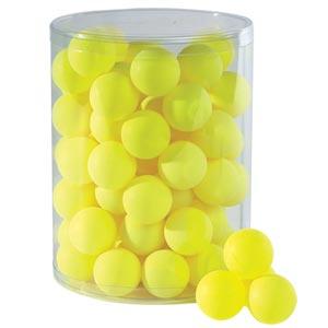 Stiga Table Tennis Balls 72 Pack Yellow