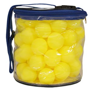 Table Tennis Balls 72 Pack Yellow