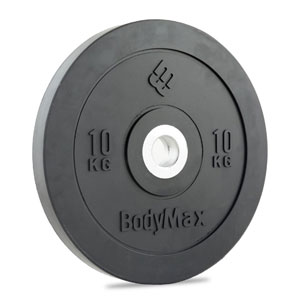 Bodymax Olympic Rubber Bumper Weight Plate