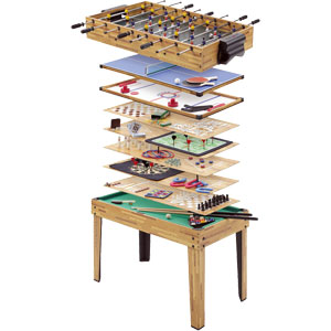 Mightymast 34 in 1 Multigame Table