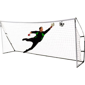 Quickplay Kickster Academy Portable Football Goal 16ft x 7ft