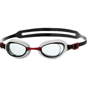 Speedo Aquapure Swimming Goggles Red/Smoke