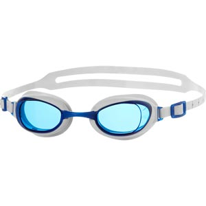 Speedo Aquapure Swimming Goggles White/Blue