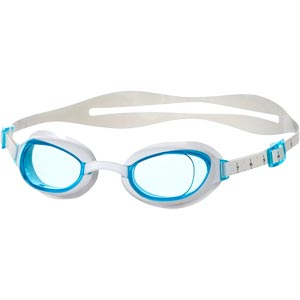 Speedo Aquapure Female Swimming Goggles White/Blue