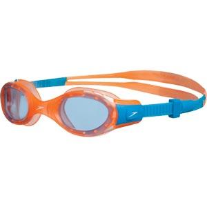 Speedo Futura Biofuse Junior Swimming Goggles Orange/Blue