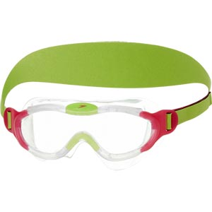 Speedo Sea Squad Junior Swimming Mask Pink/Green