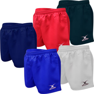 Gilbert Saracen Junior Rugby Shorts