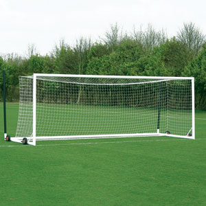 Harrod UK 3G Euro Football Portagoals 24ft x 8ft