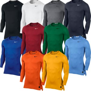Nike Pro Cool Compression Senior Long Sleeved Top