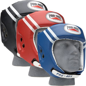 Pro Box Club Essentials PU Boxing Headguard