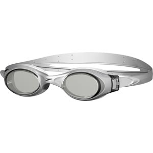 Speedo Rapide Swimming Goggles Silver/Smoke
