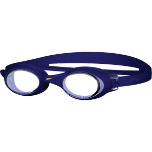 Speedo Rapide Swimming Goggles Navy/Clear