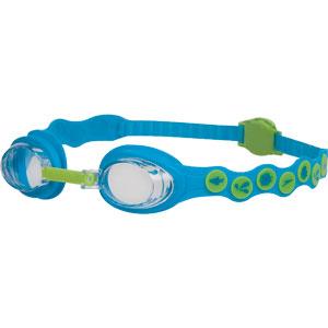 Speedo Sea Squad Swimming Goggles Neon Blue/Hydro Green