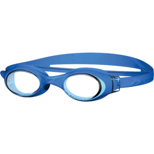 Speedo Junior Rapide Swimming Goggles Blue/Clear