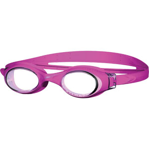 Speedo Junior Rapide Swimming Goggles Pink/Clear