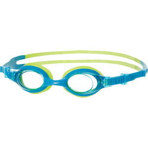 Speedo Skoogle Junior Swimming Goggles Sport Blue/Hydro Green