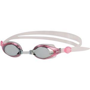 Speedo Junior Mariner Mirror Swimming Goggles Pink/Clear