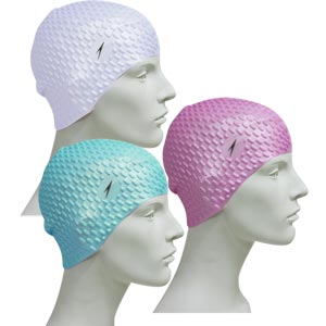 Speedo Bubble Senior Silicone Swimming Cap