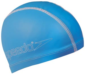 Speedo Junior Pace Swimming Cap Blue