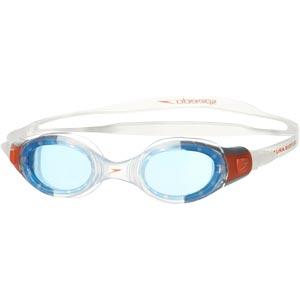 Speedo Junior Futura Biofuse Swimming Goggles Clear/Blue