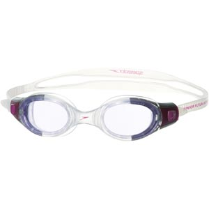 Speedo Junior Futura Biofuse Swimming Goggles Electric Purple/Purple
