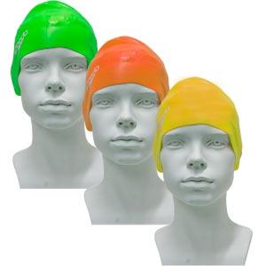 Speedo Junior Plain Moulded Silicone Swimming Cap