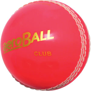 aeroBALL Club Hi Vis Cricket Ball