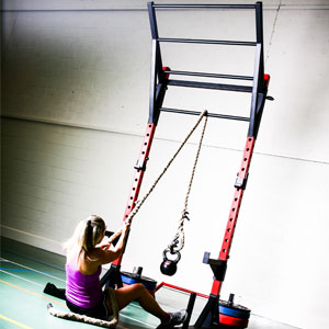 BeaverFit Warrior Functional Training Rig